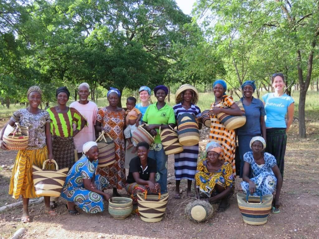 Korvipunujad Põhja-Ghanas.
