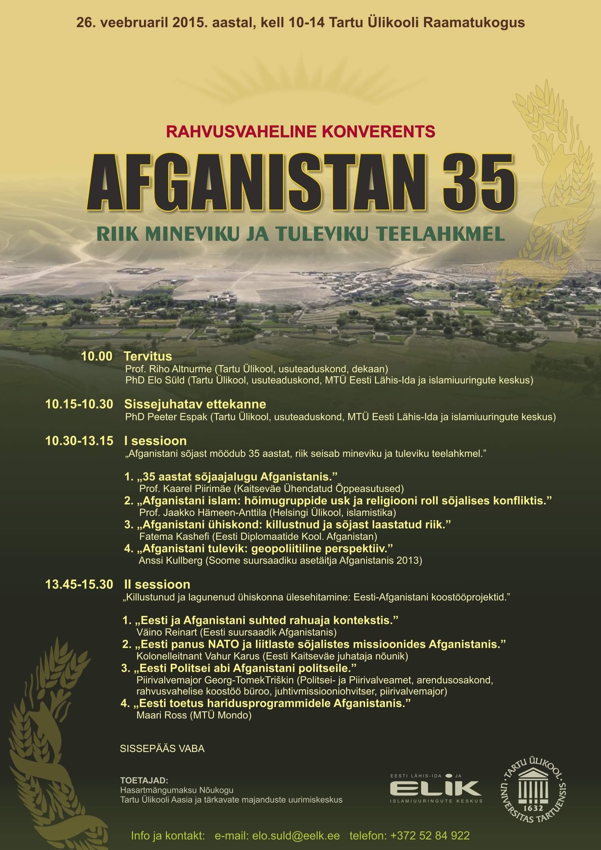 Afganistan konverents