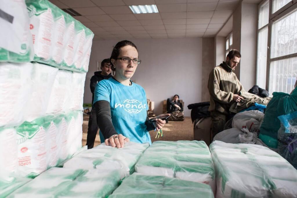 Mondo humanitaarabimissioon Ukrainas. Foto: Veronika Svištš / MTÜ Mondo