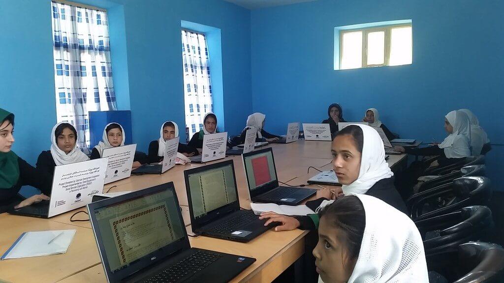 Afganistani arvutiklassid. Foto: Arash Khan