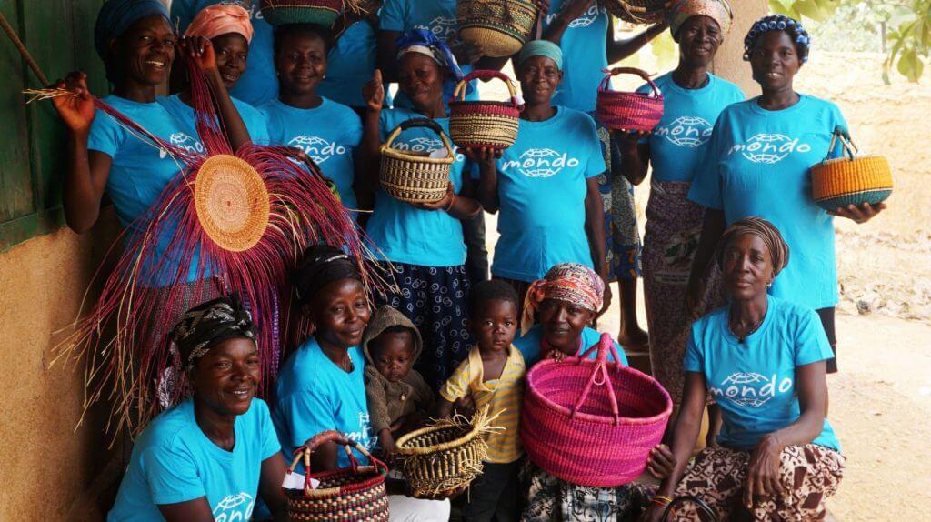 basket weavers Mondo Ghana
