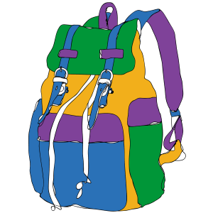 Koolikott School bag Mondo