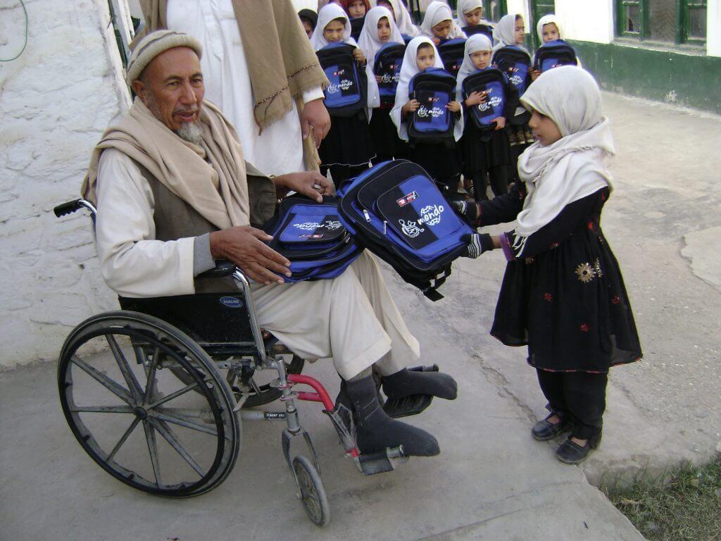 ADVS Afganistan Mondo koolikotid