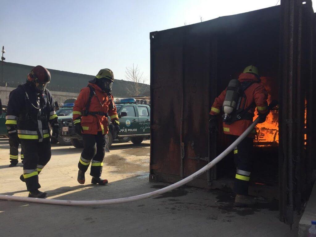 Eesti tuletorjujad Afganistan Mondo