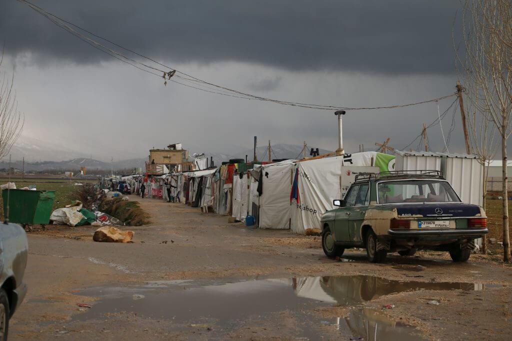 Liibanon Süüria pagulaslaager Mondo