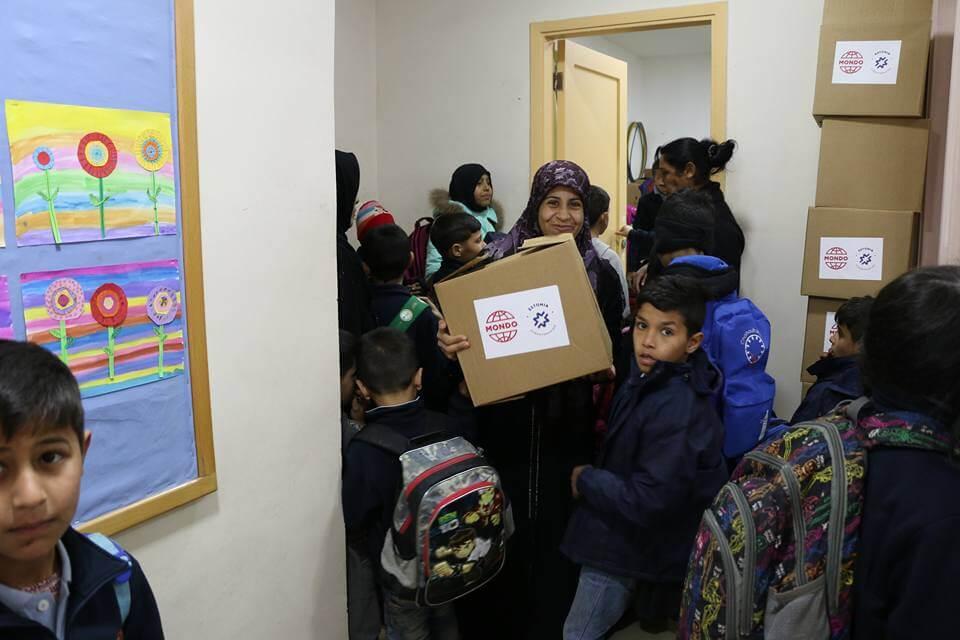 Liibanon humanitaarabi Süüria põgenikele Mondo