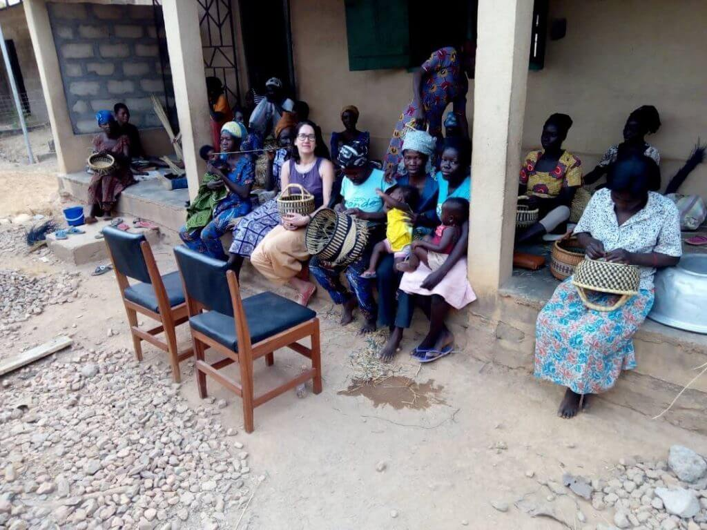 Korvipunujad Ghana Kongo Mondo