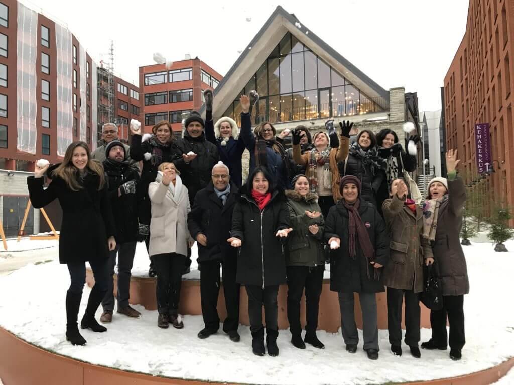 HVA ja HVM projekti partnerid Mondo