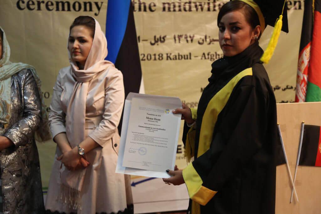ämmaemandad Afganistanis tseremoonia