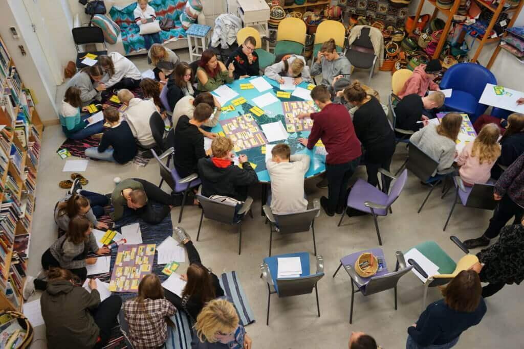 MTÜ Mondo seminariruum Telliskivi Loomelinnak rendipind