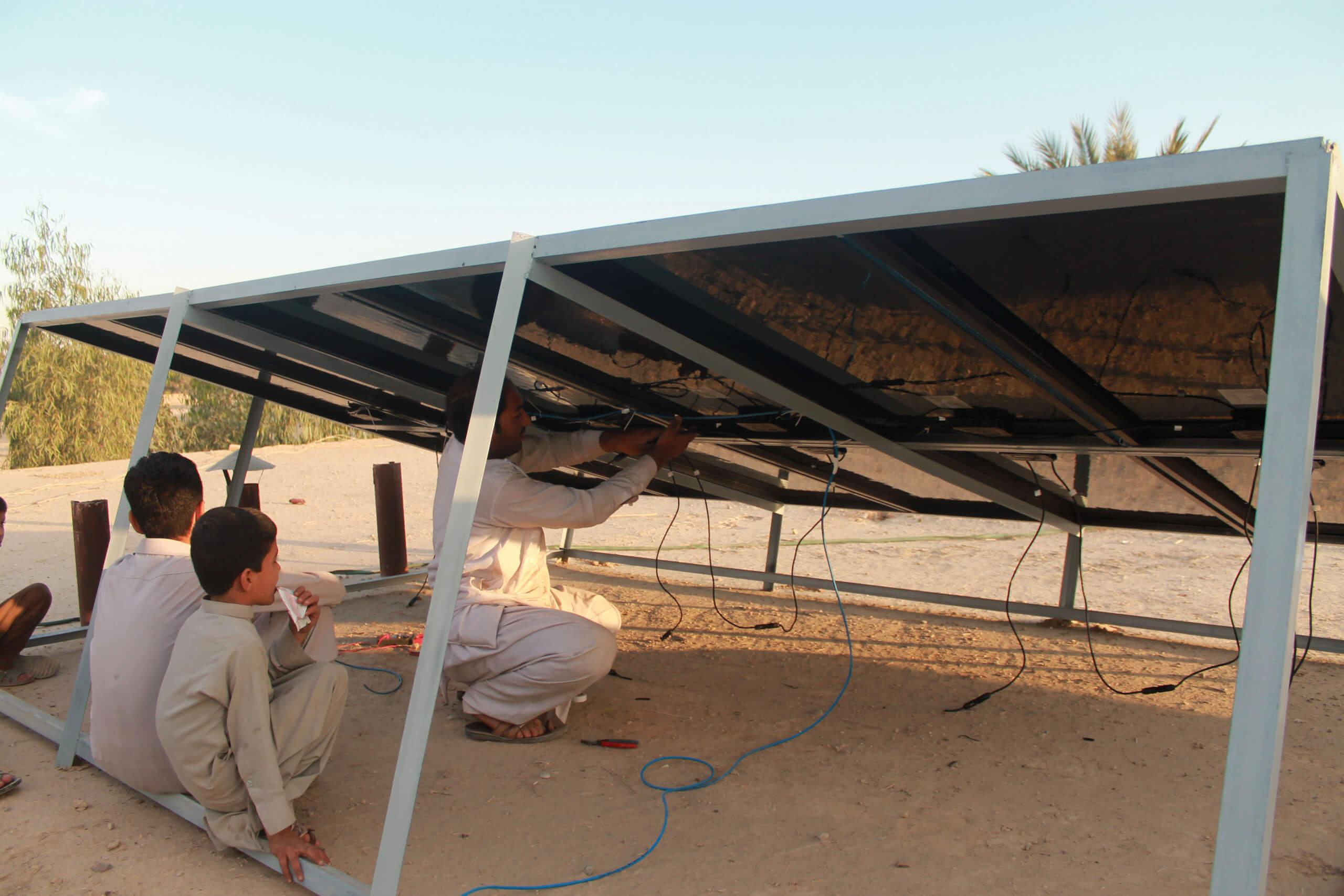 Afganistan päikesepaneelid Foto: MTÜ Mondo / ADVS