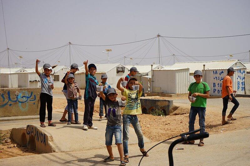Jordaania Zaatari pagulaslaager